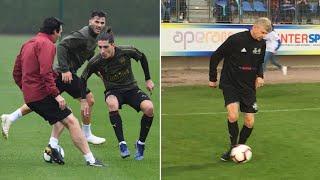 Unai Emery, Arsenal predecessor Arsene Wenger both enjoy rare cameos on pitch