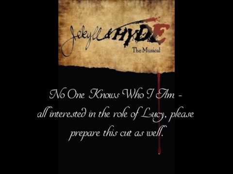 Jekyll & Hyde Auditions - No One Knows Who I Am (Lucy)