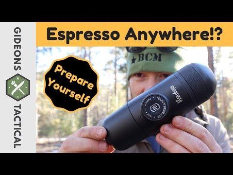 Espresso Anywhere!? Wacaco Minipresso Field Test