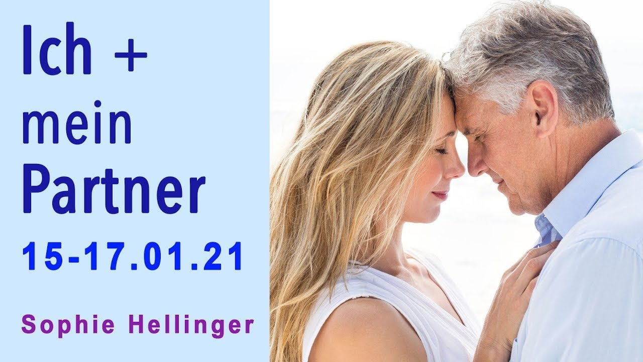 """""""Io e il mio partner"""" –Amare significa vivere– in presenza e ONLINE con Sophie Hellinger 15-17.01.21"""