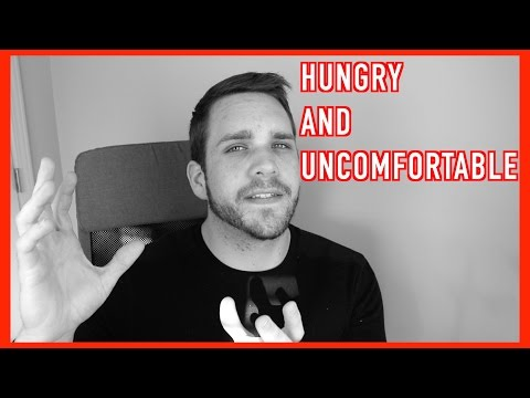 Dealing With Being Hungry And Uncomfortable While Losing Weight