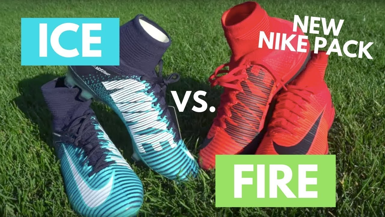 The New Nike Football Fire & Ice Boot Collection