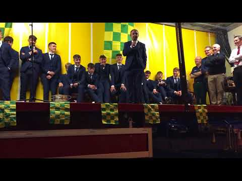 David Clifford and the Kerry Minors are welcomed home in Fossa GAA