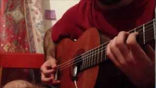 Between the raindrops (Lifehouse ft. Natasha Bedingfield) - Percussive Guitar Cover
