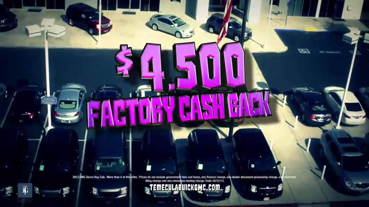 October Buick Sale At Temecula Buick Gmc October 2014