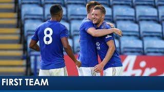 Jamie Vardy Goal | Leicester City 2 Atalanta 1