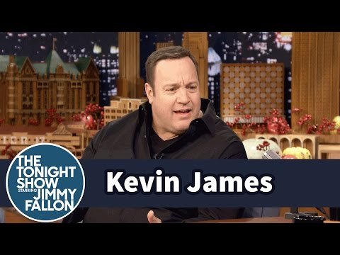 Kevin James Likes His Thanksgiving Meal Classic and from a Box