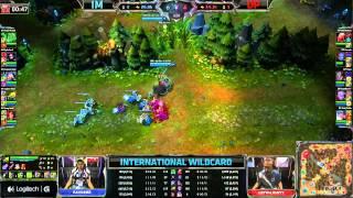 IM vs DP | Team Immunity vs Dark Passage | International Wildcard Round 2 | GamesCom 2013 Day 1