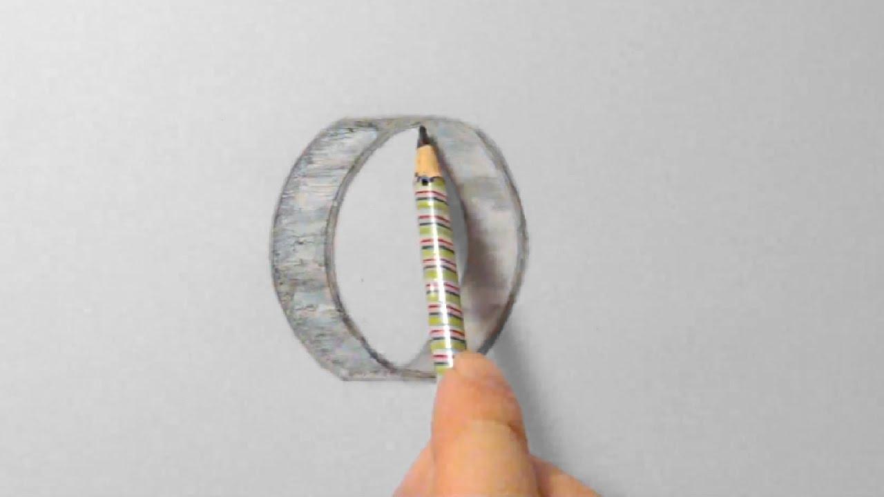 Ring zeichnen im Zeitraffer Ring drawing in fast motion