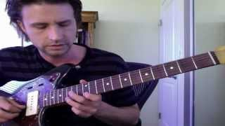 "Guitar Lesson: ""Sixteen Salteens"" by Jack White (from Blunderbuss) - Easy How to / Tutorial"