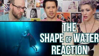 THE SHAPE OF WATER - Trailer - REACTION!! Guillermo Del Toro