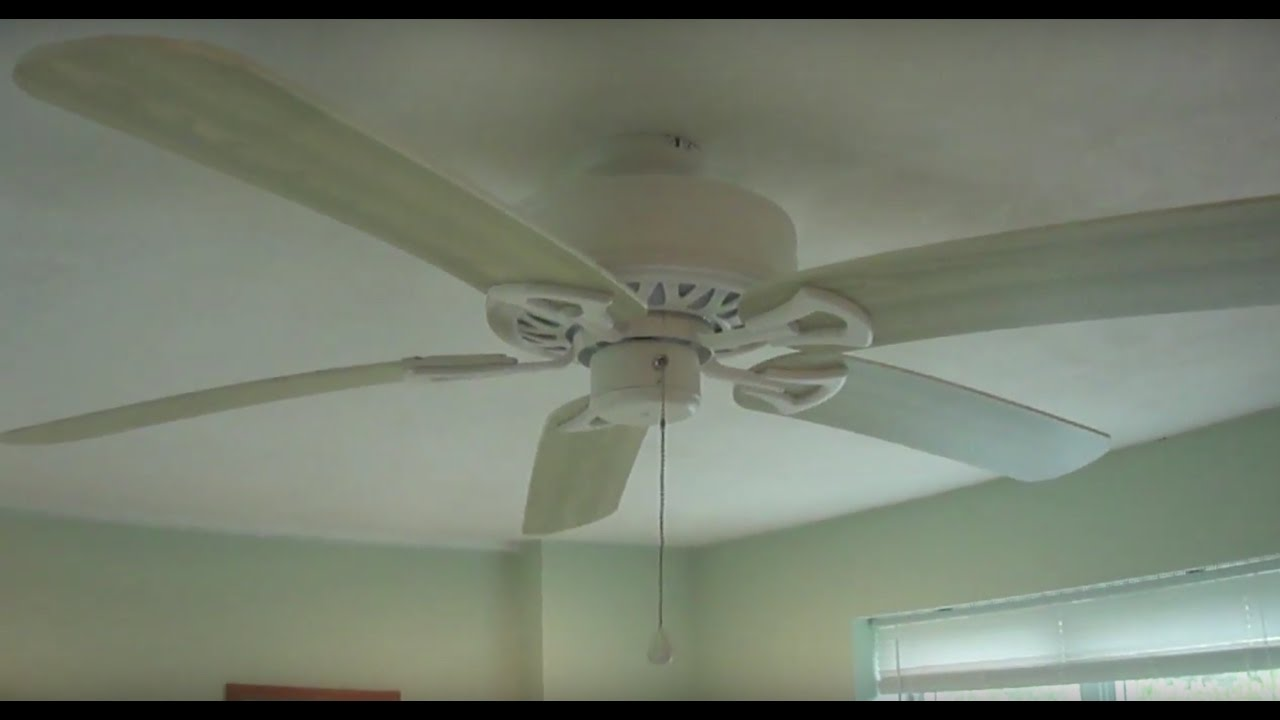 52 harbor breeze classic style ceiling fan youtube 52 harbor breeze classic style ceiling fan aloadofball