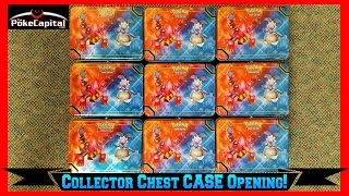 Pokemon Cards - Collector s Chest 2016 Tin CASE of 9 Lunchbox Tins