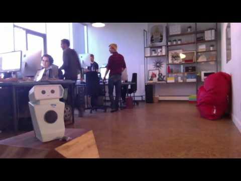 Hugo the Tweeting Robot - Live Stream