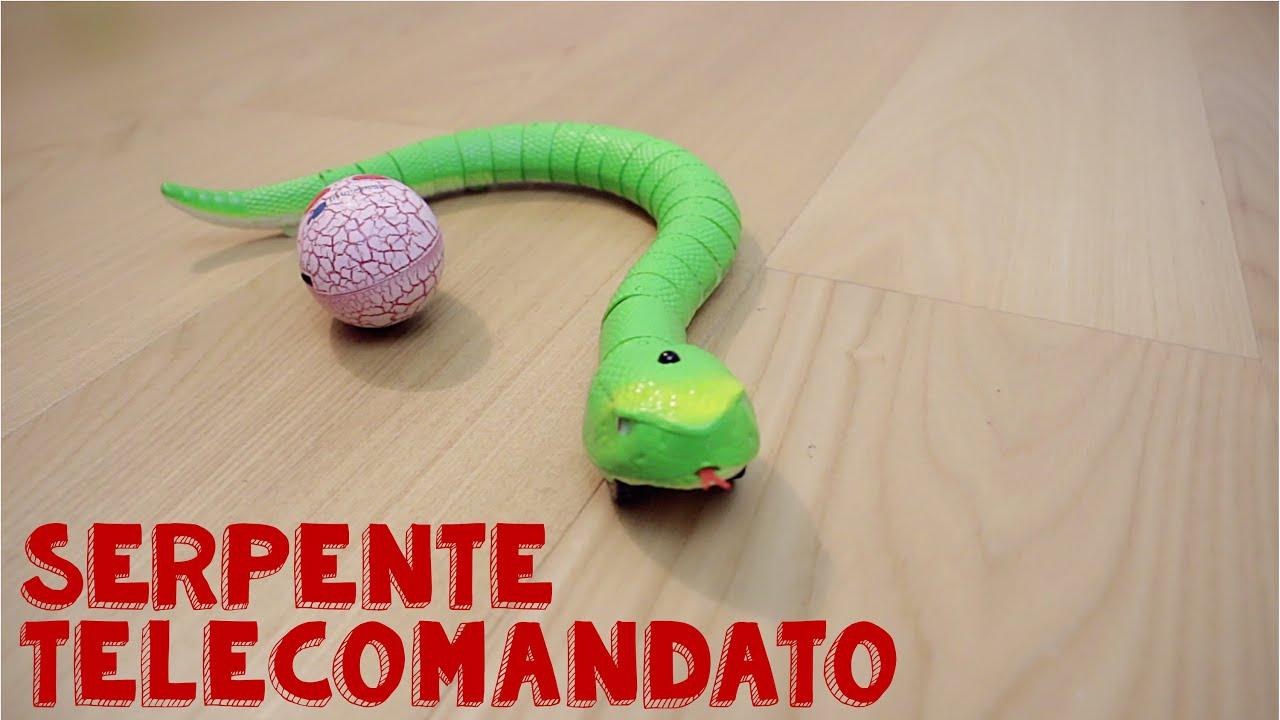Elicottero Telecomandato Per Bambini : Serpente giocattolo telecomandato per bambini youtube