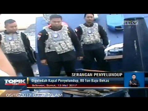 Sergap Kapal Penyelundup, Petugas Diserang Bom Molotov
