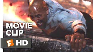 Skyscraper Movie Clip - Supercrane Jump (2018) | Movieclips Coming Soon