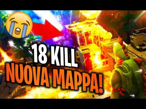 18 KILL sulla MAPPA NUOVA! | FORTNITE ITA