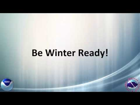 NWS Great Falls Winter Weather Public Service Announcement