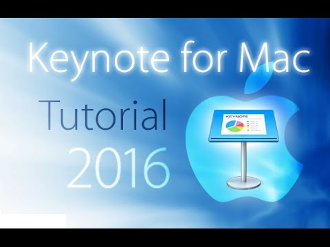 Keynote 2016 - Tutorial for Beginners [+General Overview]* - YouTube