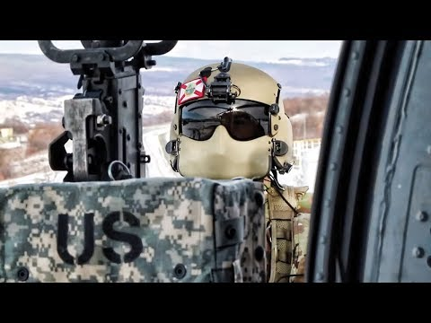 Helicopter Door Gunners Learn How To Shoot • U.S. Army