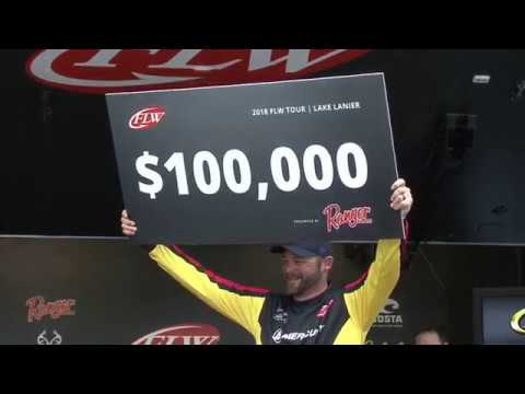 FLW Tour | Lake Lanier | Winning Moment