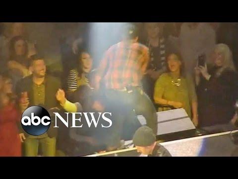 Luke Bryan Slaps Fan Heckling Him At Concert