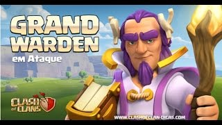 "Sneak Peek #11: O novo Herói ""Grand Warden"" - Clash of Clans"
