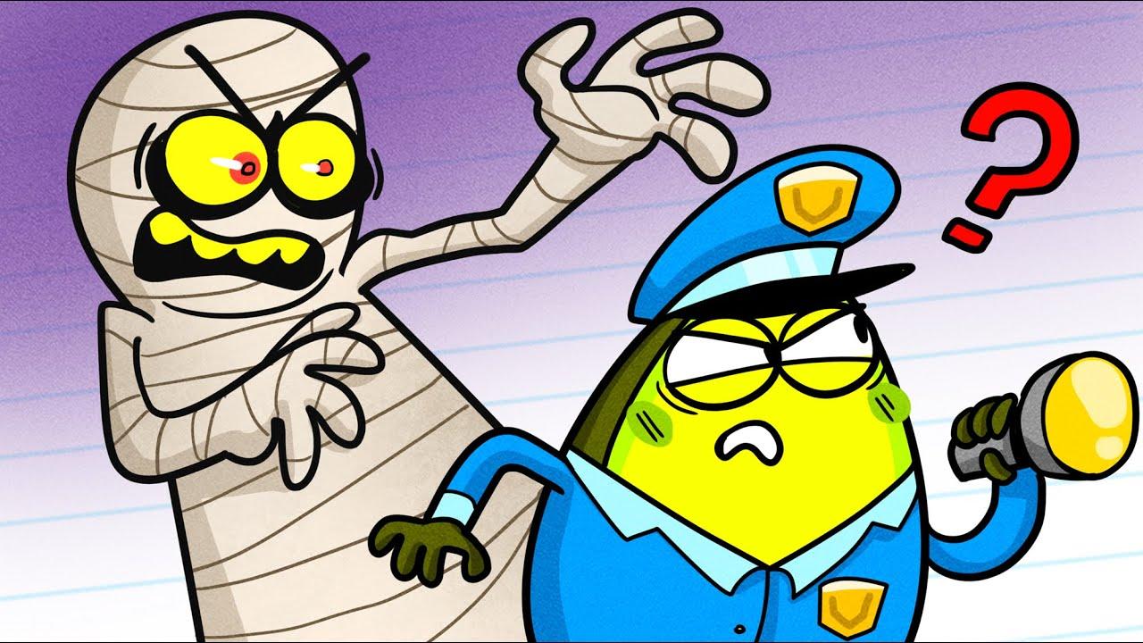 Mummy vs Vegetables | Funny Cartoon by Avocado Couple