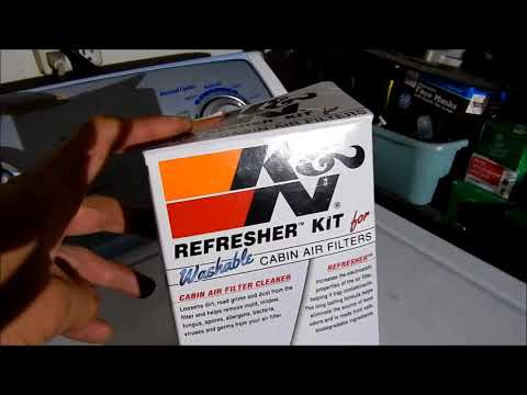 HadesOmega How To: Clean K&N Cabin Air Filter
