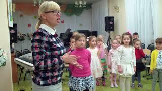 Работа с детьми подготовительной группы на начальном этапе обучения