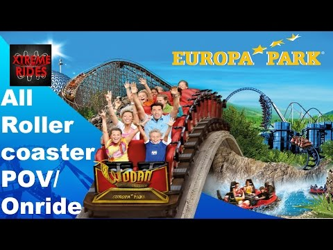 All Rollercoasters Europa Park