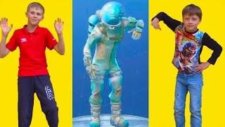 Fortnite Dance Challenge In Real Life! Кто Же Выиграл Танцевальный Челлендж? Игорь Vs Богдан!