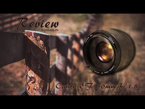 Обзор Canon 50mm f/1.8 II EF