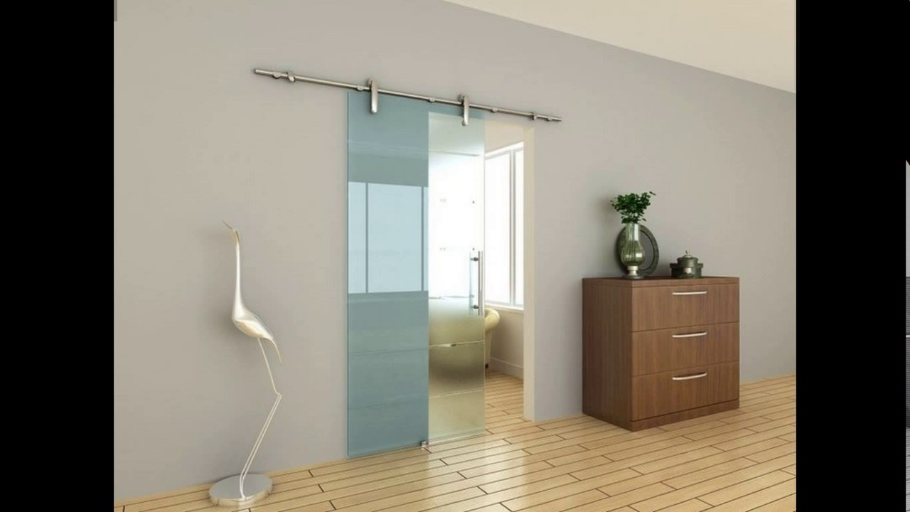 Kitchen sliding glass door design - YouTube
