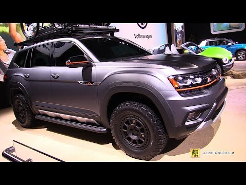 2019 Volkswagen Atlas Basecamp Concept - Exterior and Interior Walkaround - 2019 NY Auto Show