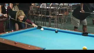 Playing the Top Ranked APA Female Pool Player in Las Vegas