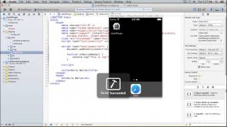 Free Phonegap Tutorial for iOS & Android Tutorial 24 - How to use Log Plugin in Phonegap