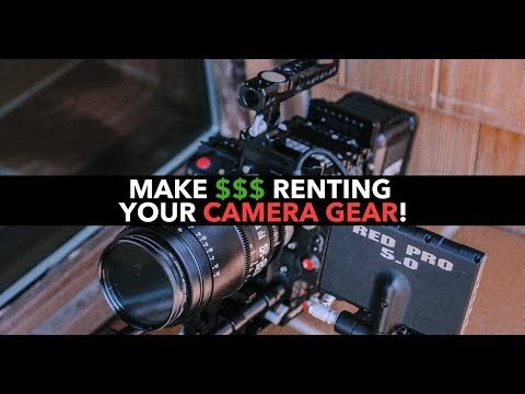 Make MONEY Renting Your Camera Gear! ShareGrid