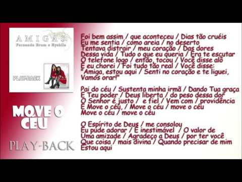 E AMIGAS EYSHILA BAIXAR PLAYBACK 2 FERNANDA BRUM CD