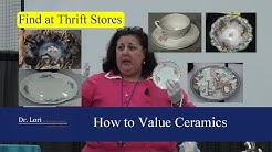How to Price Antique Dishes, China, Plates & Bowls by Dr. Lori