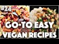 WHAT I EAT IN A DAY #24 (Easy, Vegan) | #24 (30 Videos in 30 Days) ♥ Cheap Lazy Vegan
