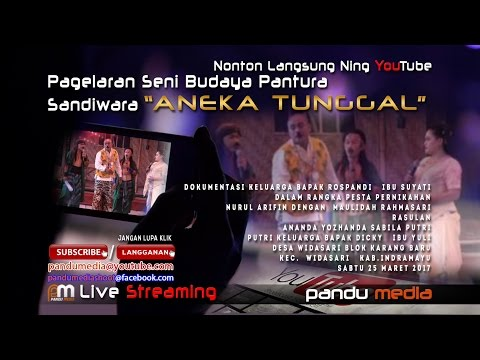 SANDIWARA ANEKA TUNGGAL LIVE WIDASARI BLOK SATU # SIANG