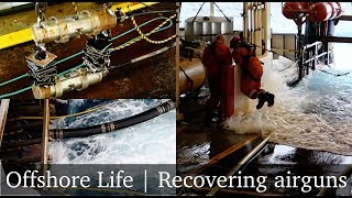 Seismic airguns recovery   Offshore Life