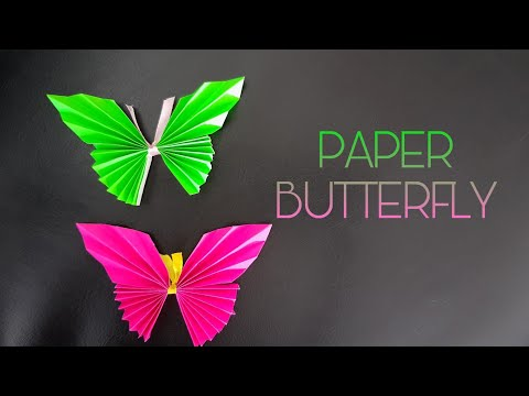 Paper Butterfly - Easy DIY 》 paper craft