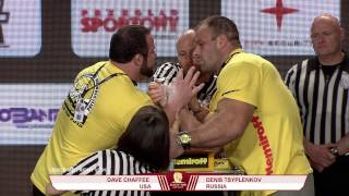 Denis Cyplenkov vs Dave Chaffee - +95kg Right Hand Nemiroff World Cup 2013