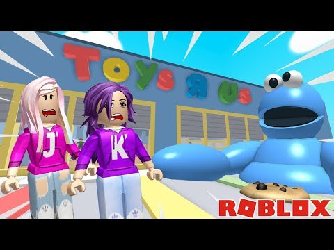 TRAPPED INSIDE THE WORLD'S LARGEST TOY STORE! / Roblox: Escape Toys R Us Obby