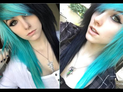 How To Dye And Style Emo Scene Hair Alex Dorame YouTube