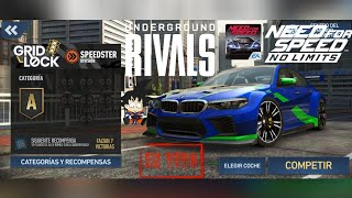 Need For Speed No Limits Android Rivales Clandestino GridLock SpeedSter BMW M5
