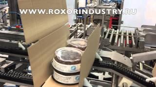 Укладка тортов в гофрокороба SR Innova Wraparound (Испания)(Картонажное оборудование. Укладка продукта в гофрокороба в первичной упаковке. На видео — упаковка проду..., 2015-08-20T06:59:23.000Z)